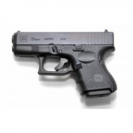 Pistol airsoft GREENGAS FULL METAL/SEMI-FULL AUTO  GLOCK 26 GEN IV WE