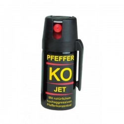 Spray paralizant-lacrimogen cu piper KO JET 40ML