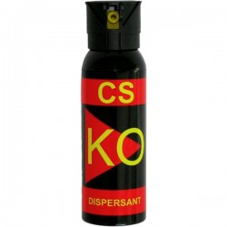 Spray paralizant-iritant lacrimogen KO CS DISPERSANT 150 ML