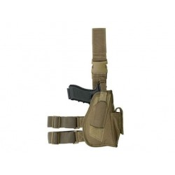 Toc picior pistol airsoft COYOTE/TAN/DESERT