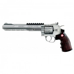 Pistol airsoft Co2 RUGER SUPERHAWK CHROME EDITION 8""