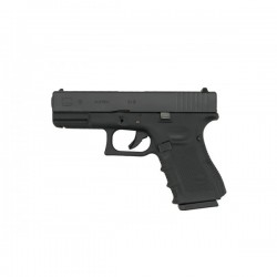 Pistol airsoft GLOCK 19 metal+polymer  WE