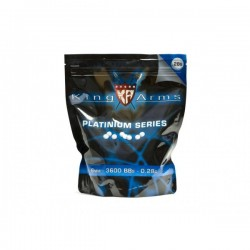Bile ABS 6mm 0,20gr KING ARMS-5000 buc/1kg