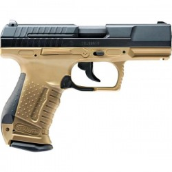 Umarex Walther P99 DAO Co2 Black/Tan Edition Full Metal