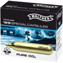 Set 10 capsule PURE CO2 WALTHER 12GR