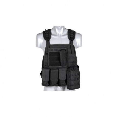 VESTA TACTICA PLATE CARRIER BLACK