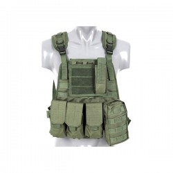 VESTA TACTICA PLATE CARRIER 8FIELDS  OLIVE
