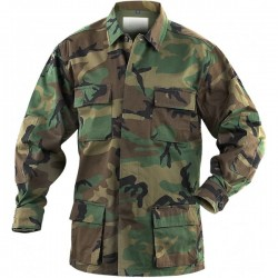 Veston MIL-TEC camuflaj WOODLAND US