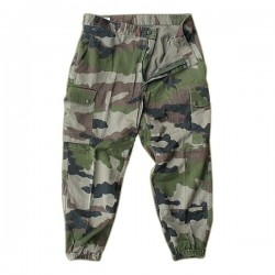 Pantaloni surplus militar camuflaj FRENCH WOODLAND