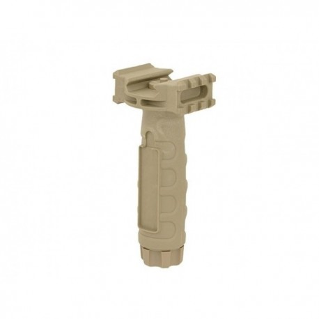 Grip vertical cu sina RIS COYOTE/TAN/DESERT
