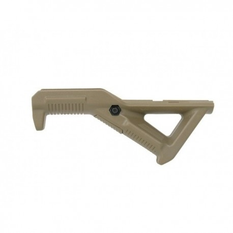 Hand grip ergonomic ungiular RAIL type-TAN/COYOTE